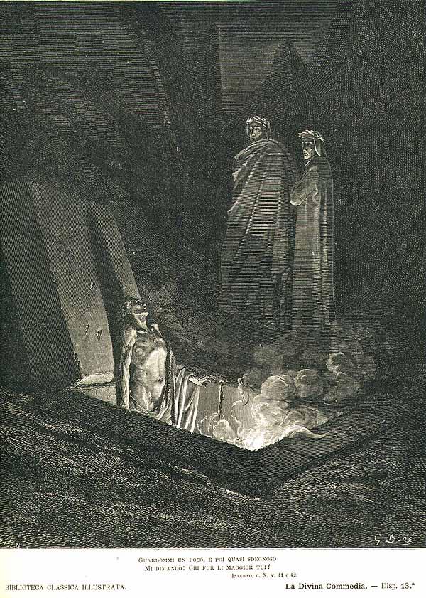 Inferno 10_41-42 Farinata degli Uberti