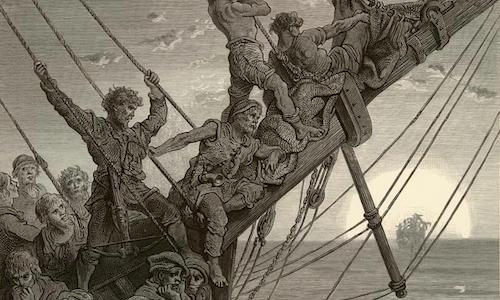 Coleridge, La ballata del vecchio marinaio (Parte terza)