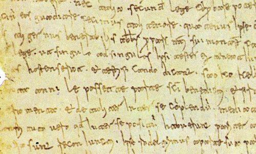Primi documenti scritti in volgare italiano