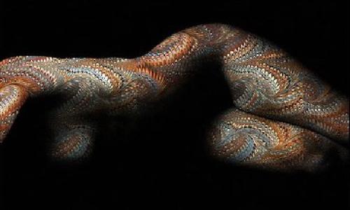 Baudelaire, Il serpente che danza (Le serpent qui danse)