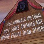 Orwell, Tutti gli animali sono uguali ma...
