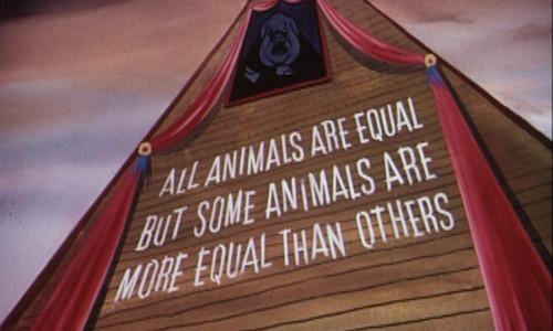 Orwell, Tutti gli animali sono uguali ma…