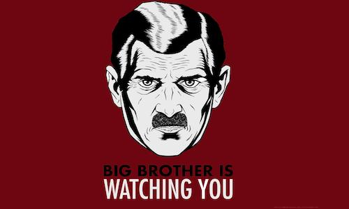 George Orwell, Il Grande Fratello e il Bipensiero